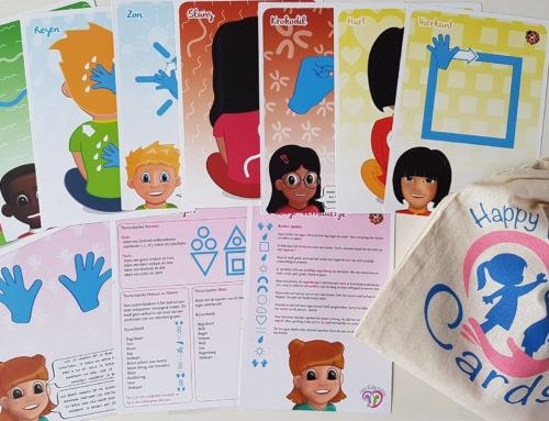 Nieuw! Happy Kids Massage Cards